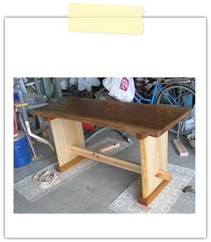 机(テーブル)