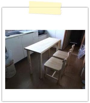 キッチンカウンターテーブル&椅子